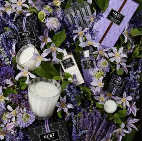 CEDAR LEAF AND LAVENDER collection with 2 products