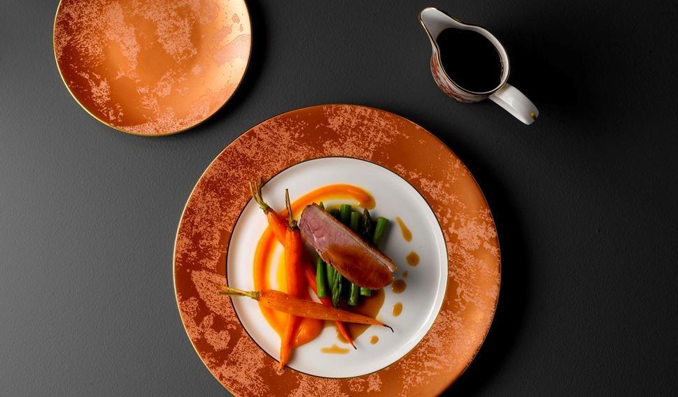 Lifestyle image 1 for Crushed Velvet - Copper