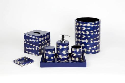 Bathroom Collections - Papyrus Blue  collection with 5 products