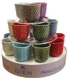 Gien  Pont Aux Choux Candles & Cups