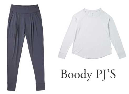 Boody PJ'S collection with 7 products