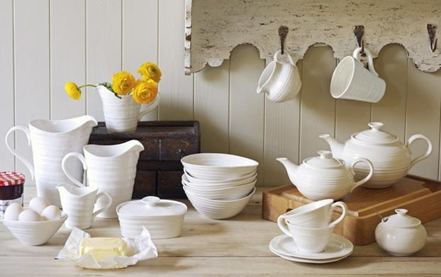 Sophie Conran White collection with 5 products