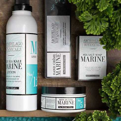 Marine collection with 5 products