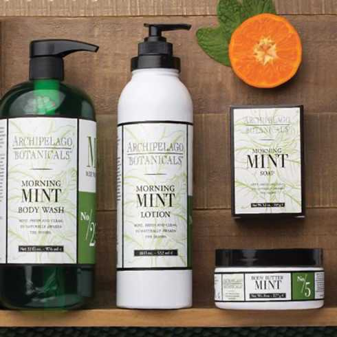 Morning Mint collection with 3 products