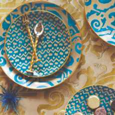 Fortuny Teal collection with 4 products