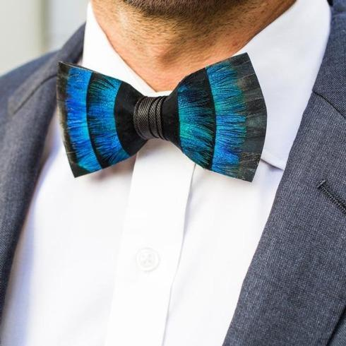 Blue Bow Ties collection with 7 products