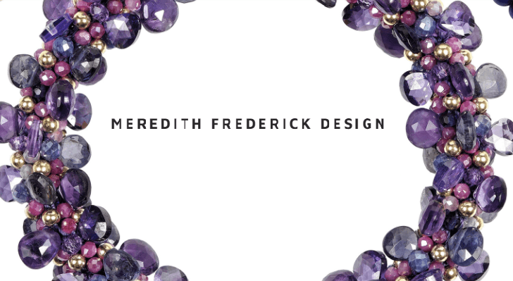 Meredith Frederick Design collection with 13 products