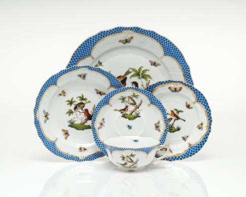 Rothschild Bird Blue Border collection with 102 products