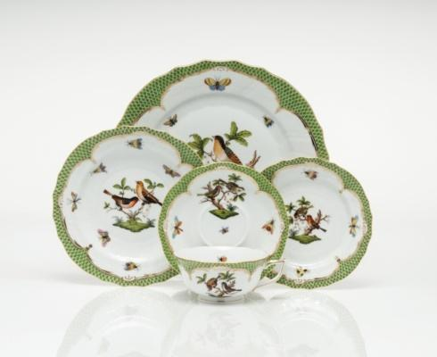 Rothschild Bird Green Border collection with 107 products