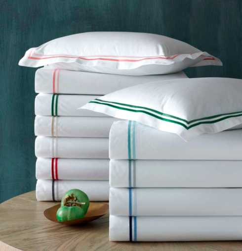 Matouk  Essex Queen Fitted Sheet - White $99.00