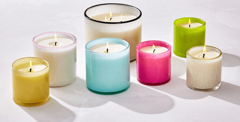 Candles collection with 29 products