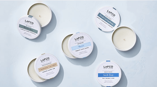 Travel Candles collection with 6 products
