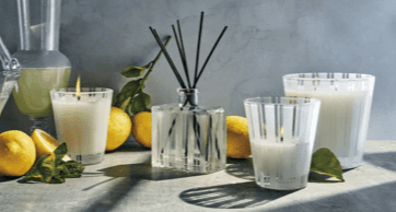 Amalfi Lemon & Mint collection with 2 products