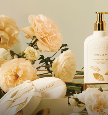 Bath & Body - Goldleaf collection with 11 products