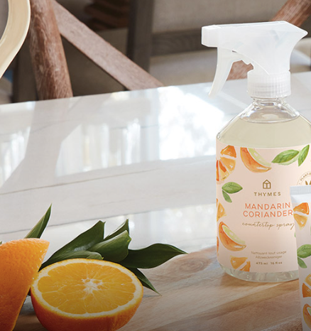 Home - Mandarin Coriander collection with 7 products