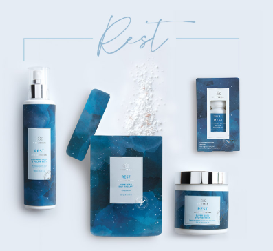 Wellness - Rest collection with 4 products