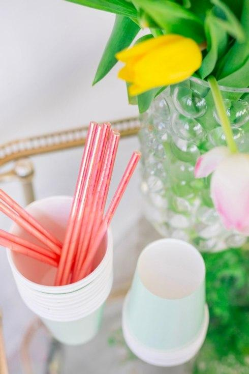 Foil Paper Straws collection with 7 products