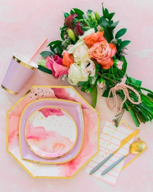 Pretty in Pink collection with 4 products