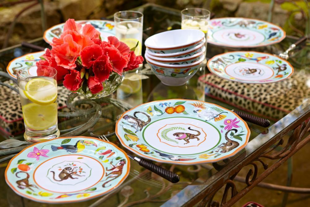 About Monkey Business » & Lynn Chase ~ Monkey Business ~ Salad Plate Price $15.00 in ...