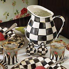 Courtly Check Enamelware collection with 37 products