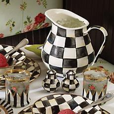 Courtly Check Enamelware collection
