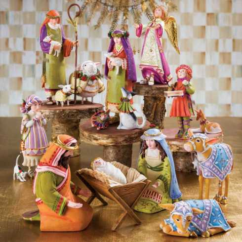 Nativity collection with 28 products