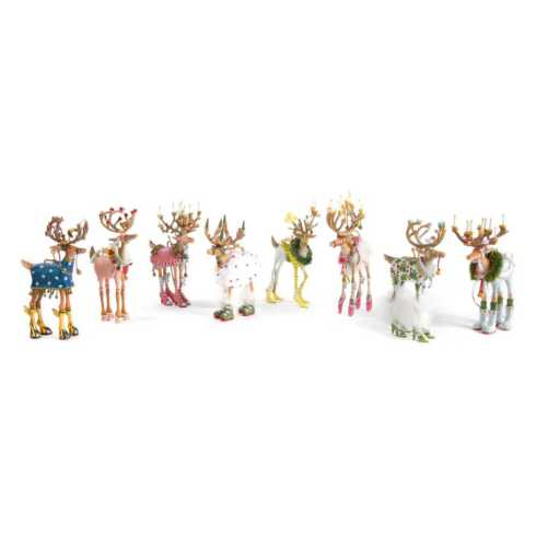 Dash Away Ornaments collection with 24 products