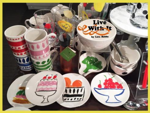 Pretty Pantry Mugs, Accent & Appetizer Plates and Canisters collection with 1 products