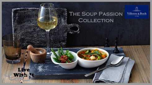 Soup Passion collection with 10 products