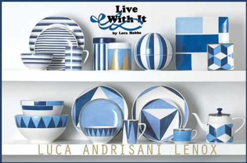 Luca Andrisani Blue Azzurro collection with 5 products