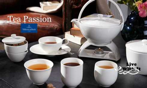 Tea Passion collection with 7 products
