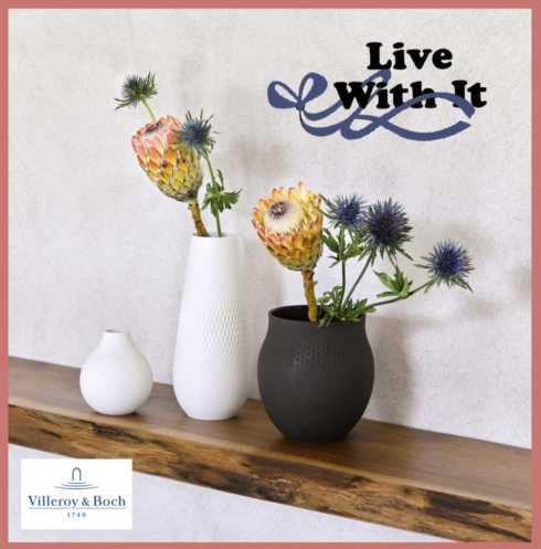 Collier Vases collection with 10 products
