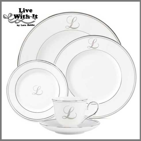 Federal Platinum Monogram Script Dinnerware Collection collection with 291 products