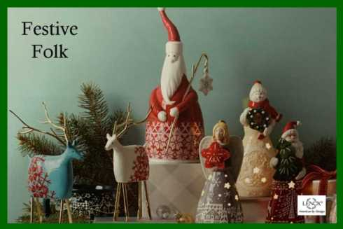 Festive Folk collection with 8 products
