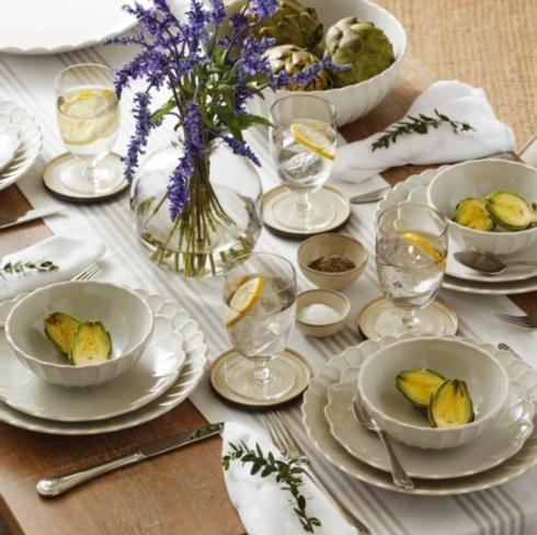 French Perle Scallop collection with 12 products