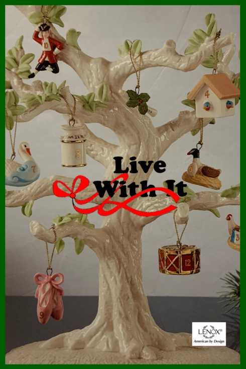 Ornament Tree collection with 4 products