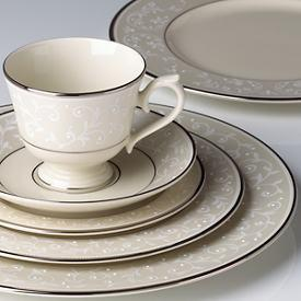 Pearl Innocence Fine Bone China collection with 10 products