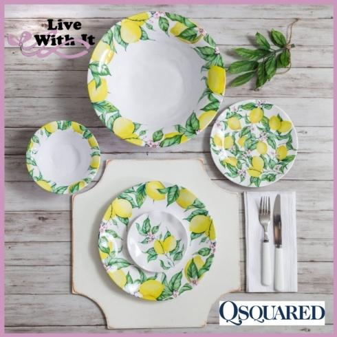 Limonata Melamine Dinnerware and Serveware collection with 6 products