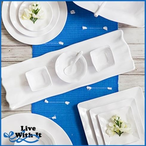 Ruffle White collection with 31 products
