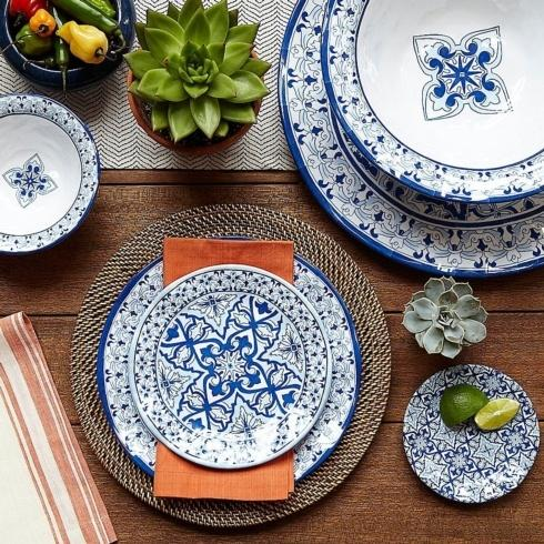 Talavera Azul collection with 6 products