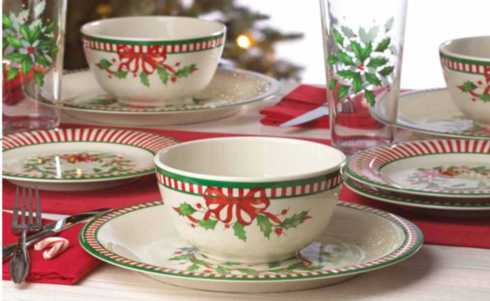 Holiday Melamine collection with 4 products