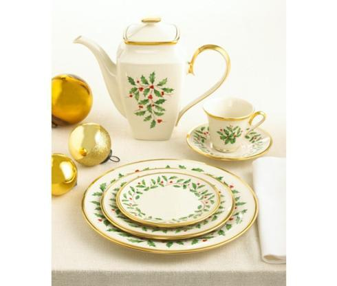 Holiday Dinnerware collection with 72 products