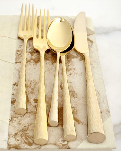 Imperial Caviar Gold Flatware collection with 3 products