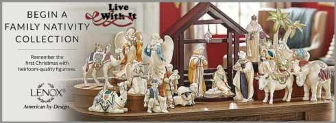 First Blessing Nativity collection with 18 products