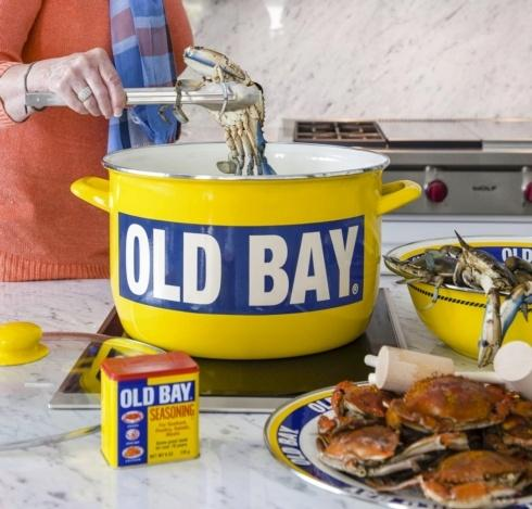 Old Bay collection with 16 products