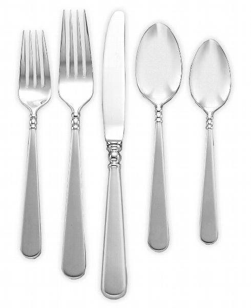 Pearl Platinum Flatware collection with 2 products