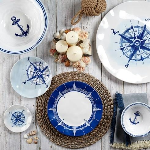 Portsmouth Melamine Dinnerware and Serveware collection with 6 products