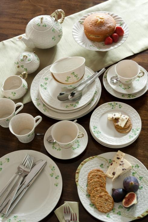 Shamrock Tableware collection with 21 products