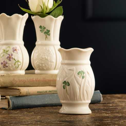 Shamrock Vases collection with 9 products