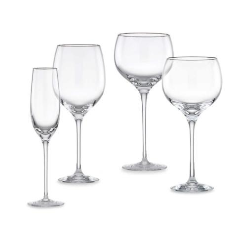 Solitaire Platinum Stemware collection with 4 products